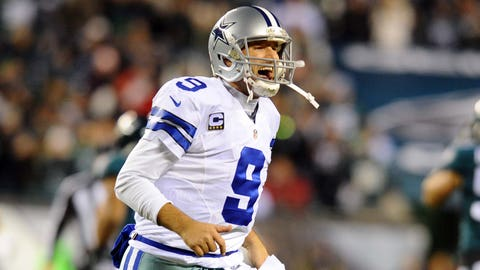 "LOVE: Tony Romo is the Dallas Cowboys' ""Mr. Clutch."" His 28 game-winning drives are more than legendary Dallas Cowboy quarterbacks Roger Staubach (23), Troy Aikman (21) and Danny White (16)."