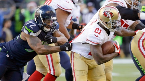 Frank Gore, RB, 49ers