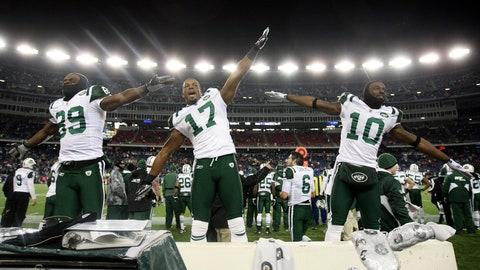 2010 season: New York Jets 28, New England 21