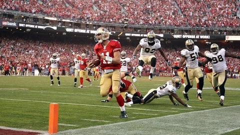 2011 season: San Francisco 36, New Orleans 32