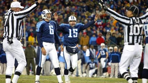 2002 season: Tennessee 34, Pittsburgh 31 (OT)