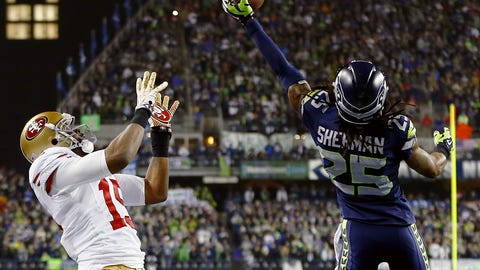 2013 NFC: Seattle 23, San Francisco 17
