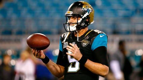 Blake Bortles (third pick, 2014, Jacksonville Jaguars)