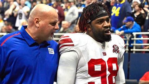 New York Giants: Damontre Moore