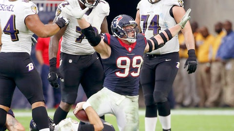 Houston: An NFL MVP trophy for J.J. Watt