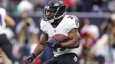 Justin Forsett (Baltimore, RB)