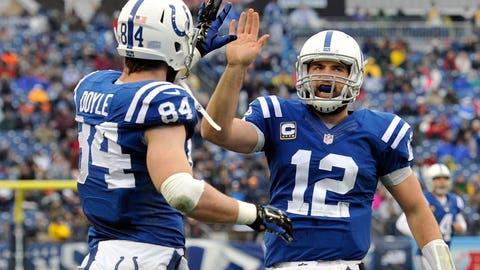 Indianapolis Colts: B+