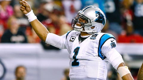 Cam Newton: 1 playoff game, 0 wins, 1 loss