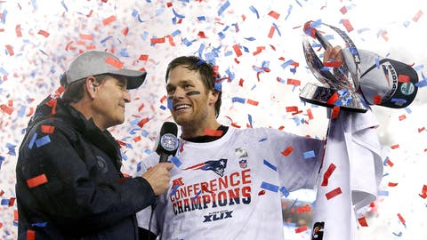 How the Patriots punched their Super Bowl ticket