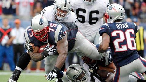 Week 3: Patriots 16, Raiders 9