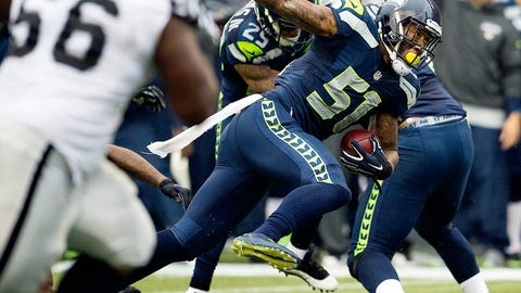 Week 9: Seahawks 30, Raiders 24