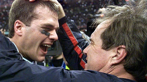 Super Bowl XXXVI: Patriots 20, Rams 17