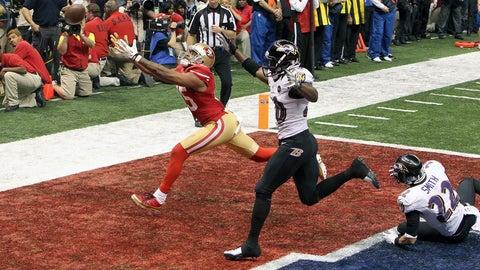Super Bowl XLVII: 49ers come up short