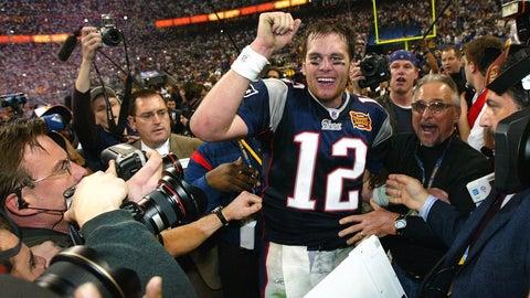 Super Bowl XXXVIII: Tom Brady does it again