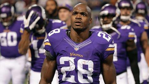 Adrian Peterson, Vikings RB