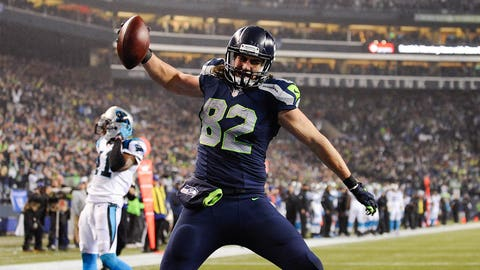 2. Luke Willson: Tight end, Seahawks