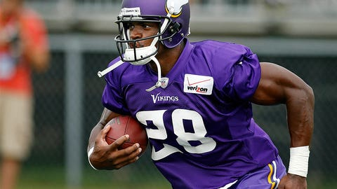 4. What will Minnesota decide about running back Adrian Peterson?