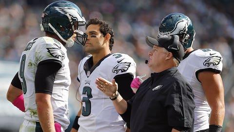 9. What will Philadelphia do at quarterback?