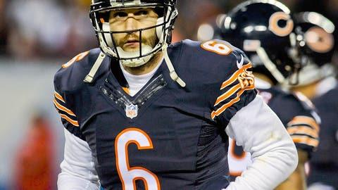 6. Jay Cutler stays in Chicago