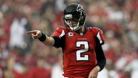 Matt Ryan, Falcons QB, $19.5M: Good