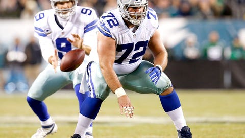Travis Frederick, Cowboys and ex-Badgers center