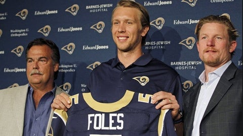 7. St Louis Rams (Oct. 4)