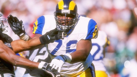 1997: Orlando Pace (OT, Ohio State) by St. Louis Rams (Rd. 1, pick 1)