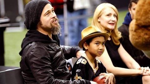 New Orleans Saints: Brad Pitt