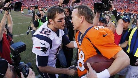 2013: Broncos 26, Patriots 16