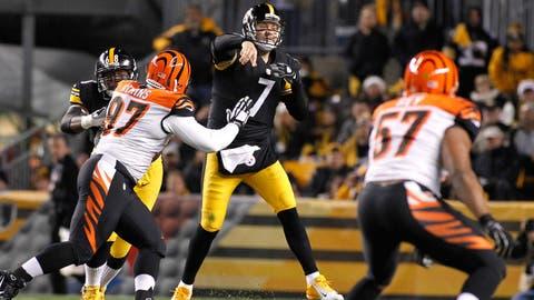 Cincinnati vs. Pittsburgh: Nov. 1 (Week 8) and Dec. 13 (Week 14)