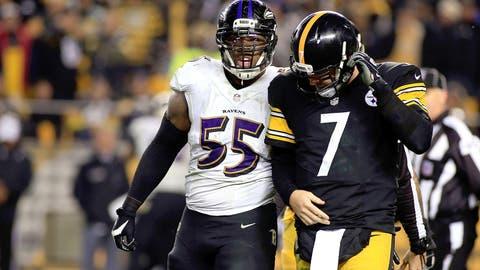 Baltimore vs. Pittsburgh: Oct. 1 (Week 4) and Dec. 27 (Week 16)