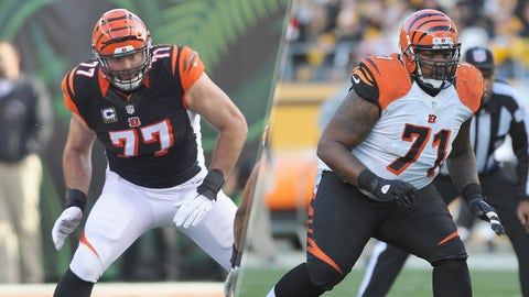 Cincinnati Bengals OT Andrew Whitworth and Andre Smith