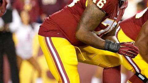 Washington Redskins OT Morgan Moses