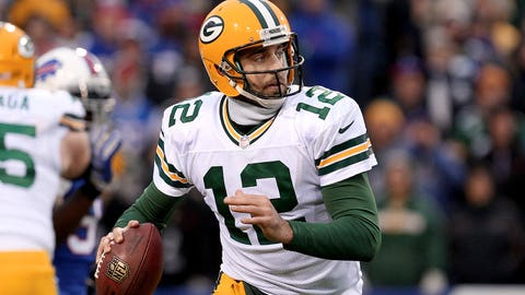 1. Green Bay Packers -- Aaron Rodgers