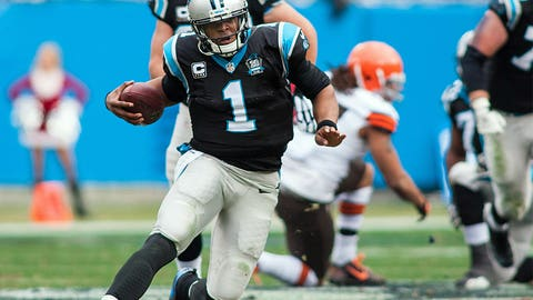 16. Carolina Panthers -- Cam Newton