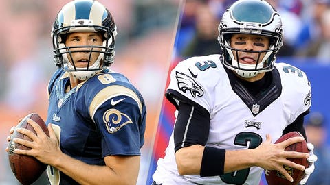 21. Philadelphia Eagles -- Sam Bradford and Mark Sanchez