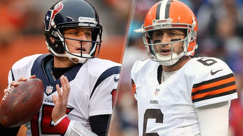 30. Houston Texans -- Ryan Mallett and Brian Hoyer