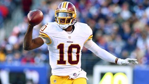 31. Washington Redskins -- Robert Griffin III