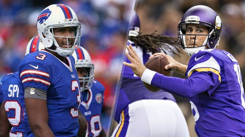 32. Buffalo Bills -- EJ Manuel and Matt Cassel