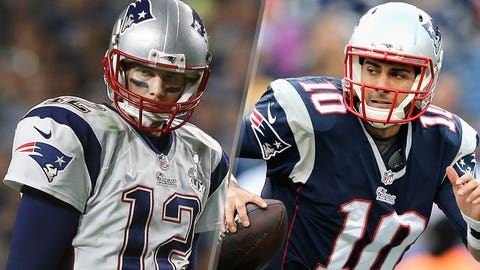 4. New England Patriots -- Tom Brady and Jimmy Garoppolo