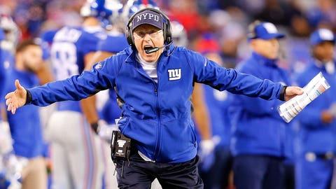 Tom Coughlin, New York Giants