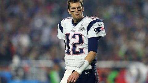 New England quarterback Tom Brady