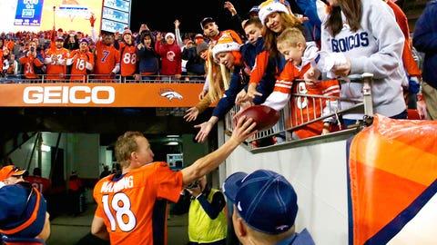 Denver quarterback Peyton Manning