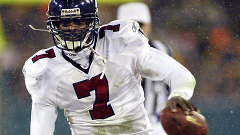 2003: QB Michael Vick, Atlanta Falcons (fractured fibula)