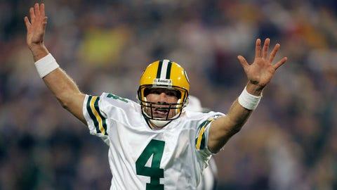 2008-09: Brett Favre, QB, Packers (2009 cover)