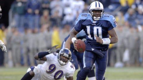 2007-08: Vince Young, QB, Titans (2008 cover)