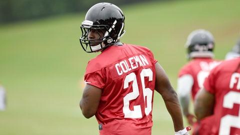 Who gets the nod: Tevin Coleman of Devonta Freeman?