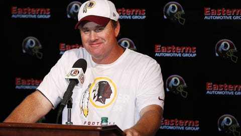 Jay Gruden, Washington Redskins