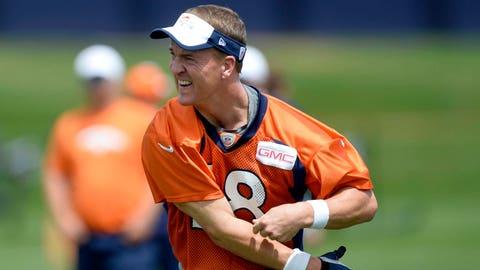 Broncos QB Peyton Manning, $17 million