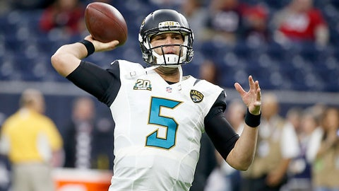 Is Blake Bortles ready to make a jump in 2015?